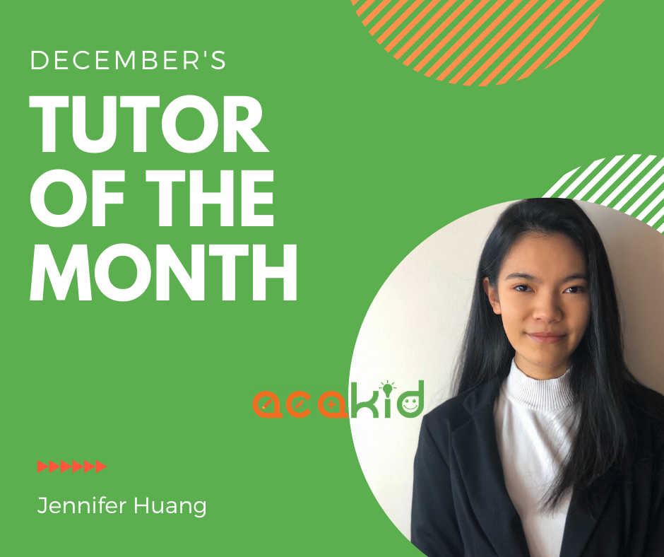 Tutor of the month - December 2019